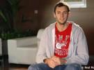 Tomas Van den Spiegel fue presentado como nuevo jugador del Real Madrid de baloncesto