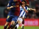 El Barça vence al Recre y el Málaga aprovecha la resaca del Villarreal