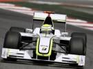 Button consigue la pole en Montmeló con Alonso 8º