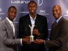 Usaint Bolt es galardonado con el Laureus 2008