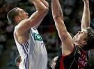 Liga ACB: el Real Madrid pasa por encima del Tau y fuerza el tercer partido