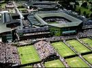 Wimbledon sigue el guión previsto