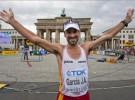 García Bragado consigue la medalla de bronce en los 50 kilómetros marcha