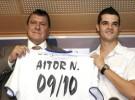 Aitor Núñez está contento con el juego de su equipo