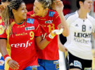 Preeuropeo femenino de balonmano: España apaliza a una Grecia paupérrima