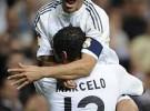 El Real Madrid gana al Valladolid con doblete de Raúl