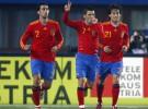 España golea 1-5 a la selección de Austria