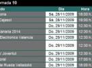 Liga ACB Jornada 10: previa, horarios y retransmisiones