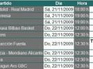 Liga ACB Jornada 9: previa, horarios y retransmisiones