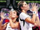 Torneo de Maestras: Nuria Llagostera y María José Martínez se proclaman campeonas en dobles