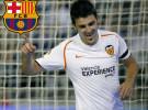 Valencia y F.C. Barcelona confirman el traspaso de David Villa