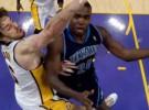 NBA Playoffs, segunda ronda: los Lakers consiguen el 1-0 ante los Jazz con gran partido de Bryant y Gasol