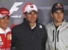 GP de España de Fórmula 1: Fernando Alonso, Jaime Alguersuari y Pedro De la Rosa hablan de sus sensaciones de cara a la carrera
