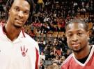 Bosh y Wade a los Heat