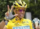 Alberto Contador gana el Tour de Francia 2010