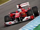 Alonso se muestra optimista con las mejoras de su F10 en Silverstone