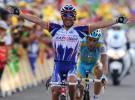 Tour de Francia 2010: Purito Rodríguez logra el primer triunfo para los españoles