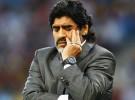 Maradona deja de ser seleccionador de Argentina
