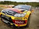 Rally de Finlandia: Solberg domina una primera jornada marcada por el abandono de Hirvonen