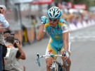 Tour de Francia 2010: Vinokourov se saca la espinita en la meta de Revel