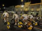 Vuelta a España 2010: Columbia gana la contrarreloj por equipos nocturna