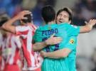 Liga Española 2010/11 1ª División: el Barcelona golea por 0-8 al Almería con hat trick de Messi