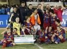 El Barcelona gana el navideño Torneo alevín de fútbol 7