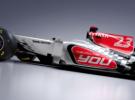 La escudería española Hispania Racing Team muestra las primeras imágenes de su nuevo monoplaza