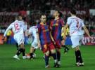 Liga Española 2010/11 1ª División: Sevilla y Barcelona empatan a uno y animan un poco la Liga