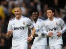 Liga Española 2010/11 1ª División: dos goles de Benzema dan al Real Madrid el triunfo sobre el Hércules