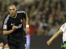 Liga Española 2010/11 1ª División: el Real Madrid gana por 1-3 al Racing de Santander con doblete de Benzema