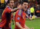 España gana a la República Checa por 2-1 con dos goles del Guaje Villa