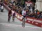 Philippe Gilbert gana la Strade Bianche 2011