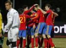 España resuelve la papeleta de Lituania ganando por 1-3