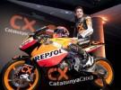 Marc Márquez presentó la moto con la que competirá en Moto2