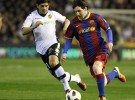 Liga Española 2010/11 1ª División: un gol de Messi da 3 puntos de oro al Barça en Valencia