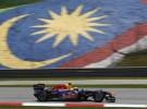 GP de Malasia 2011 de Fórmula 1: Mark Webber domina los entrenamientos libres, Alonso no pasa de la novena plaza