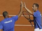 Copa Davis 2011: Tsonga y Llodra derrotan a la pareja española en dobles