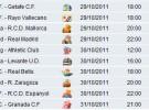 Liga Española 2011-12 1ª División Jornada 11: horarios y retransmisiones con Barcelona-Mallorca y Real Sociedad-Real Madrid