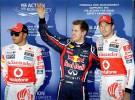 GP de Japón 2011 de Fórmula 1: pole para Vettel por delante de Button y Hamilton, Alonso 5º