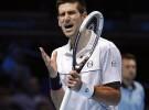 Masters de Londres 2011: Djokovic queda al borde de la eliminación