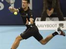 ATP Basilea: Roger Federer a la final, Novak Djokovic cae con problemas físicos