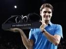 Masters París-Bercy 2011: Federer campeón ganando a Tsonga