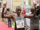 Biwott vence en la maratón de París, Kiprugut en la de Milán y Sugut en la de Viena