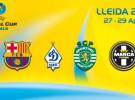 Barcelona y Sporting de Portugal se enfrentarán semifinal de Liga de Campeones de fútbol sala