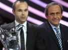 Andrés Iniesta es nombrado Mejor Jugador de Europa en 2011/12 para UEFA