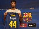 Tomic, ex del Real Madrid, presentado por el Regal Barça