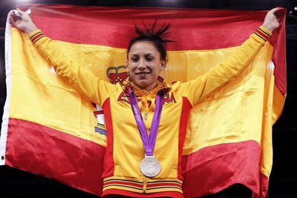 Briggite Yagüe, medalla de plata para España en taekwondo