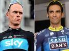 Vuelta a España 2012: Alberto Contador y Chris Froome, los dos grandes favoritos