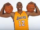 NBA: Dwight Howard ya luce como jugador de los Lakers